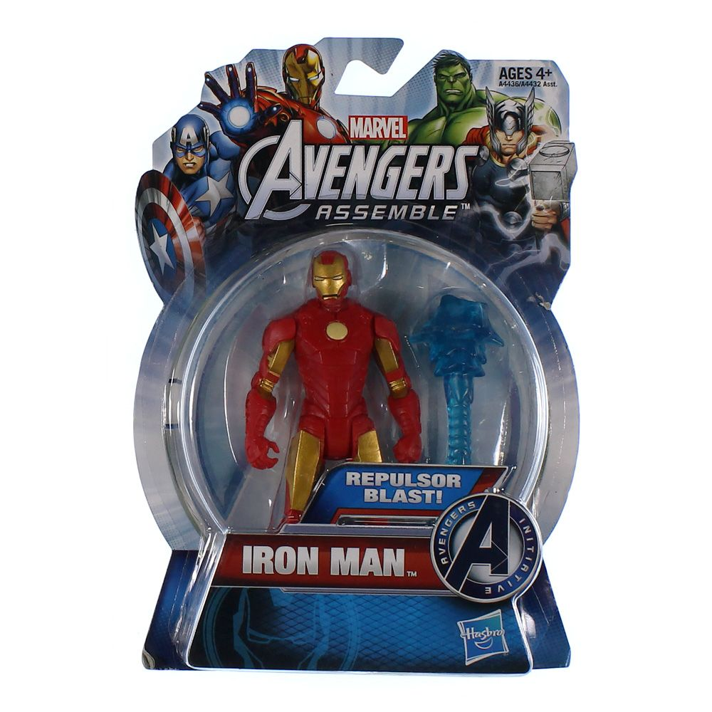 The Avengers All-Star Iron Man 4 inch Action Figure 4300204938