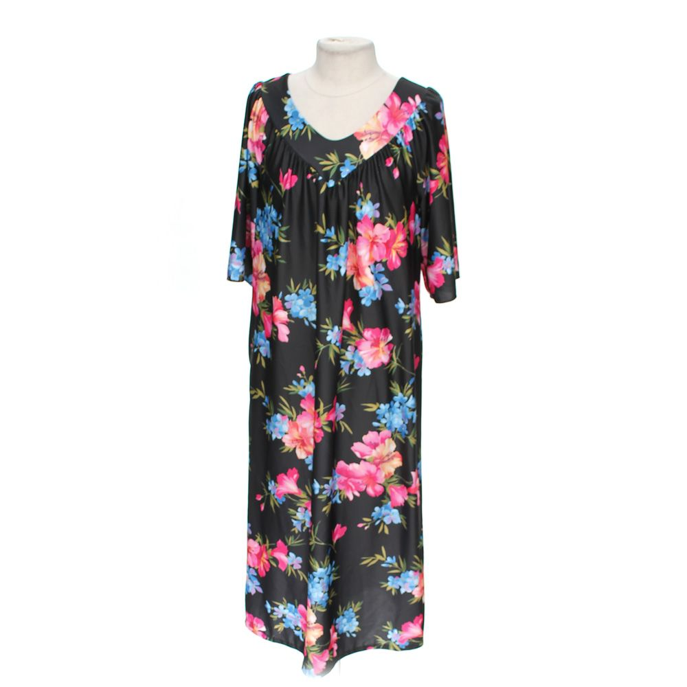 Floral Nightgown, Size M