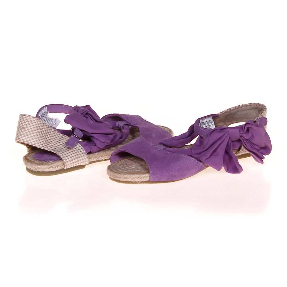 J Slides Leather Bow Sneakers