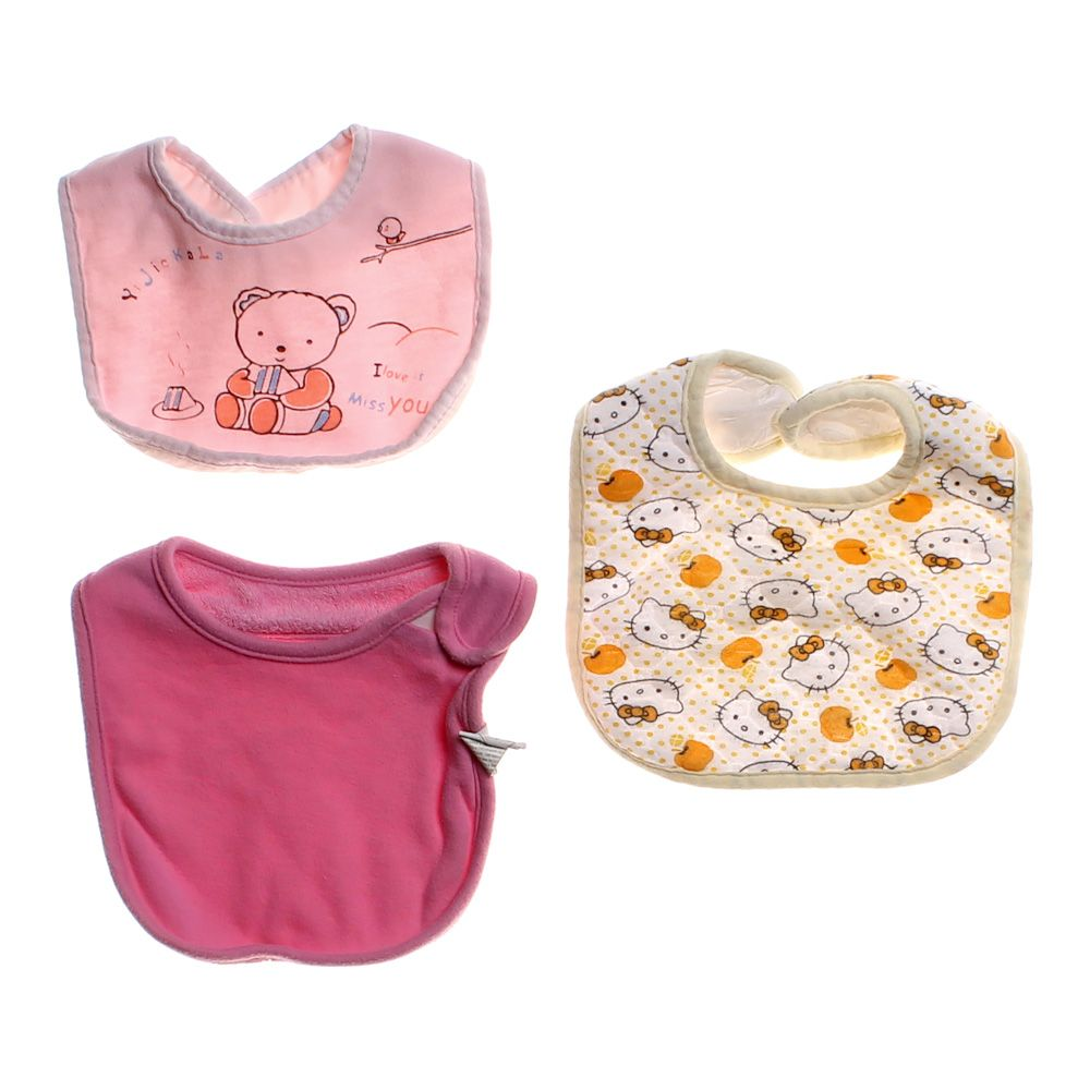 "Image of ""3 Piece Bib Set, size One Size"""