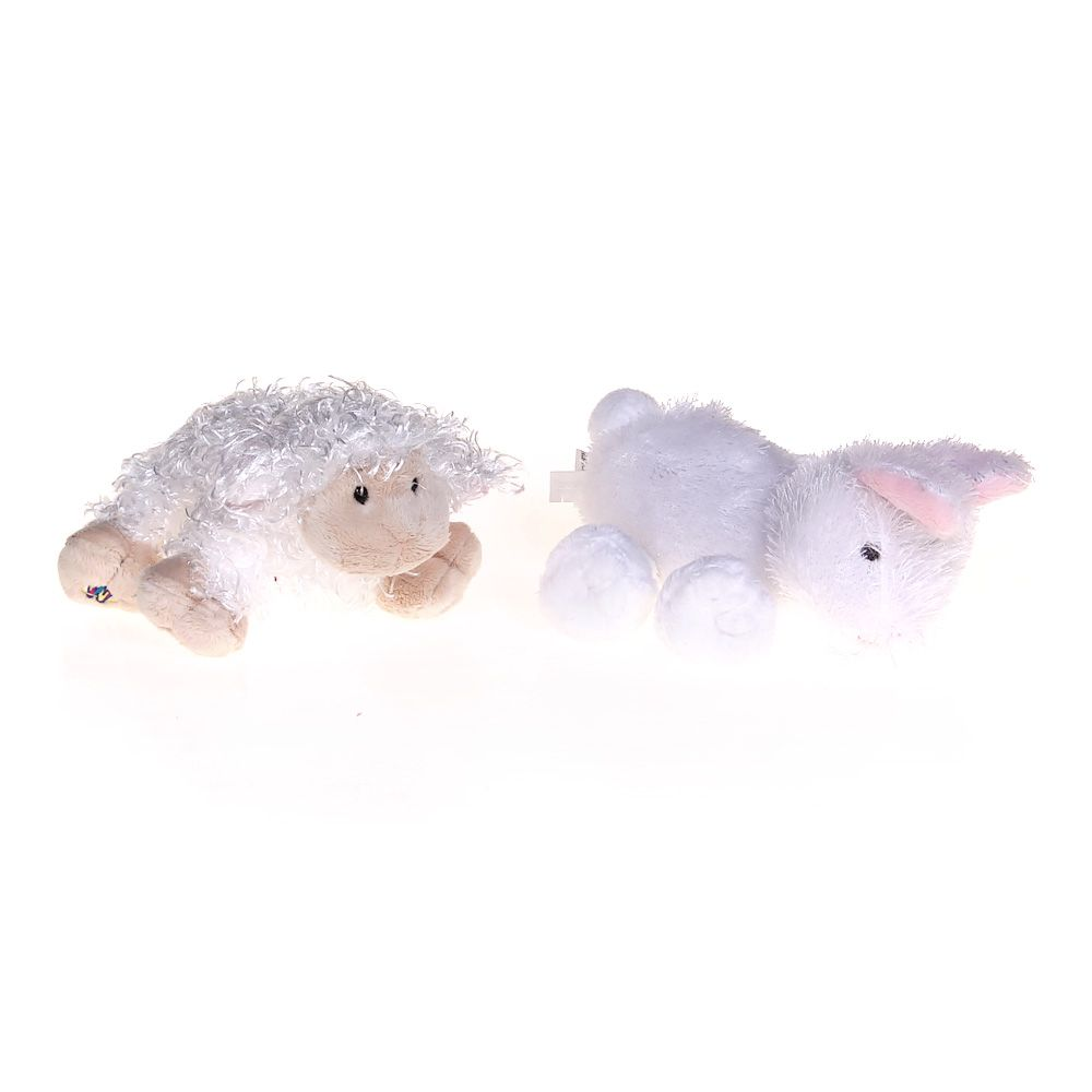 Image of Plush Lamb & Plush Bunny Set