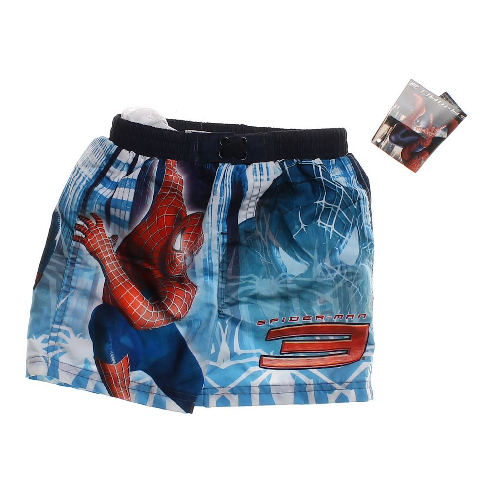 """""Spider-Man Swimming Trunks, size 18 mo"""""" 4496987278"