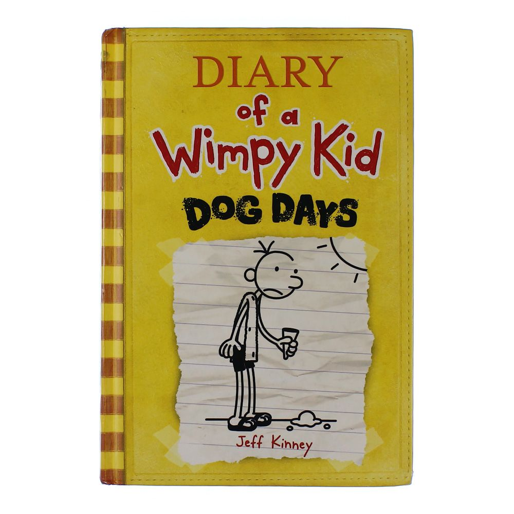 Book: Diary of a Wimpy Kid: Dog Days 4534524050