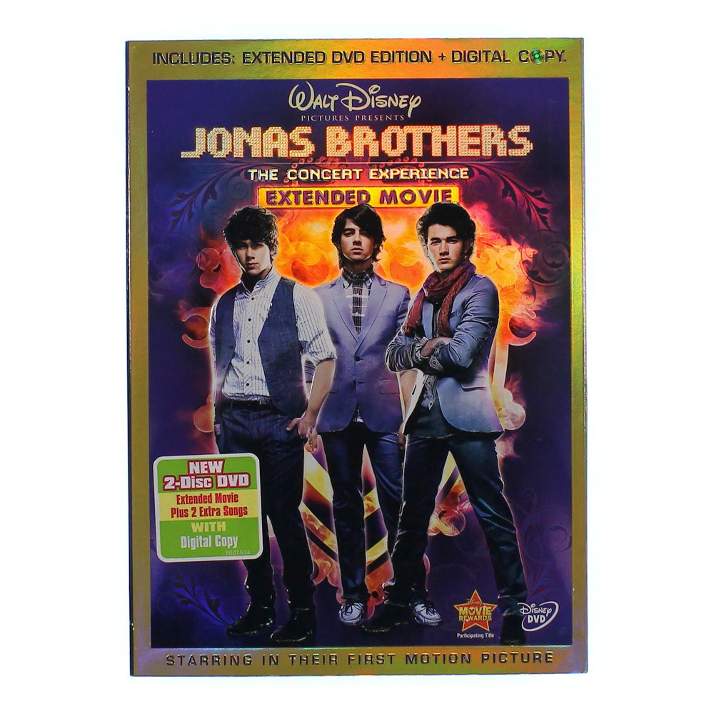 Movie: Jonas Brothers: The Concert Experience 4555034076