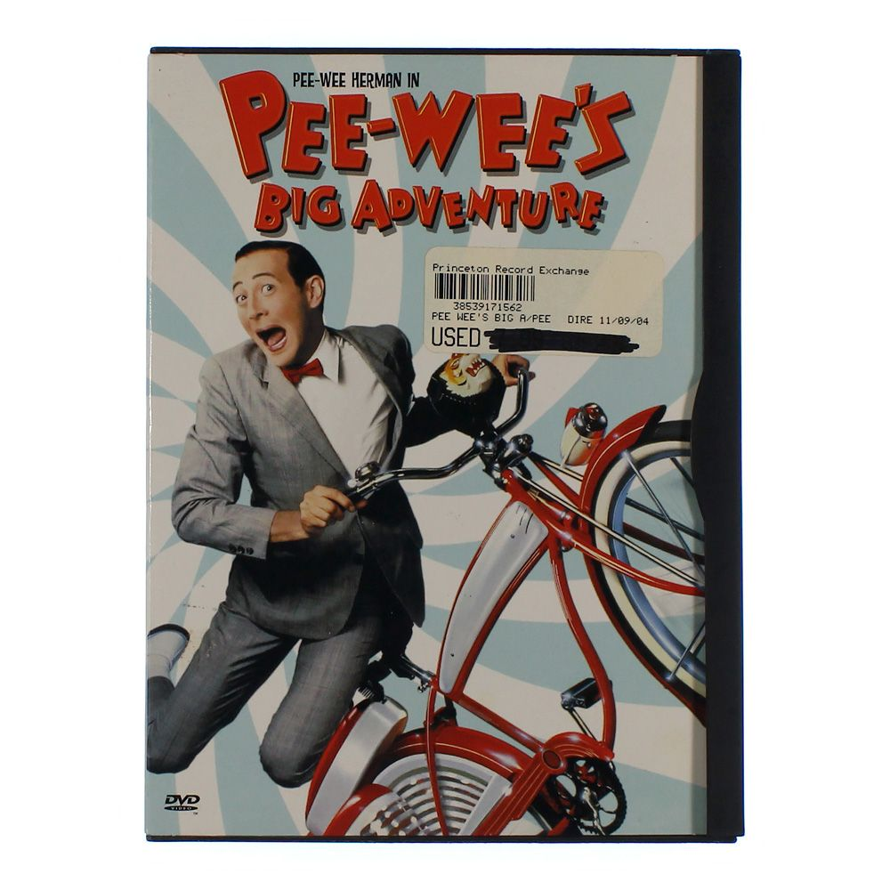 Movie: Pee-wee's Big Adventure (Widescreen) 4586914037