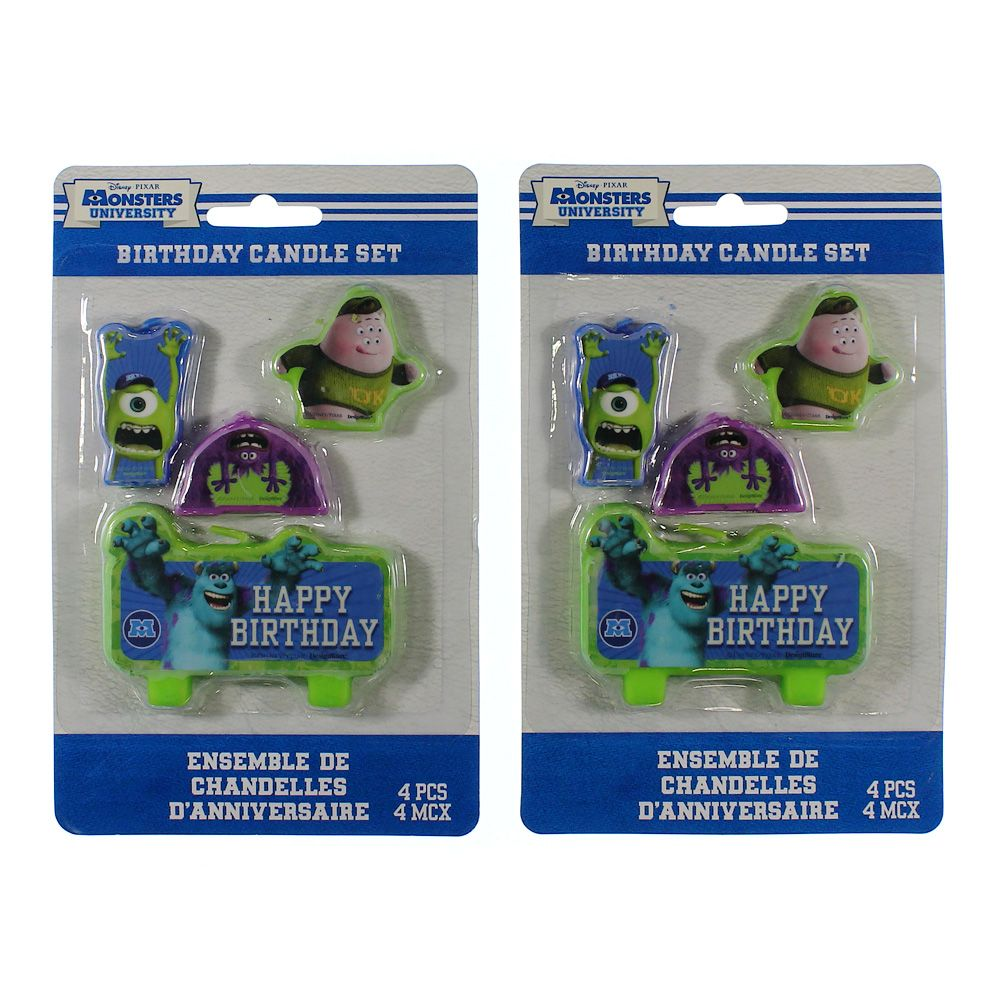 Monsters University Inc. Candle Set 4601354422