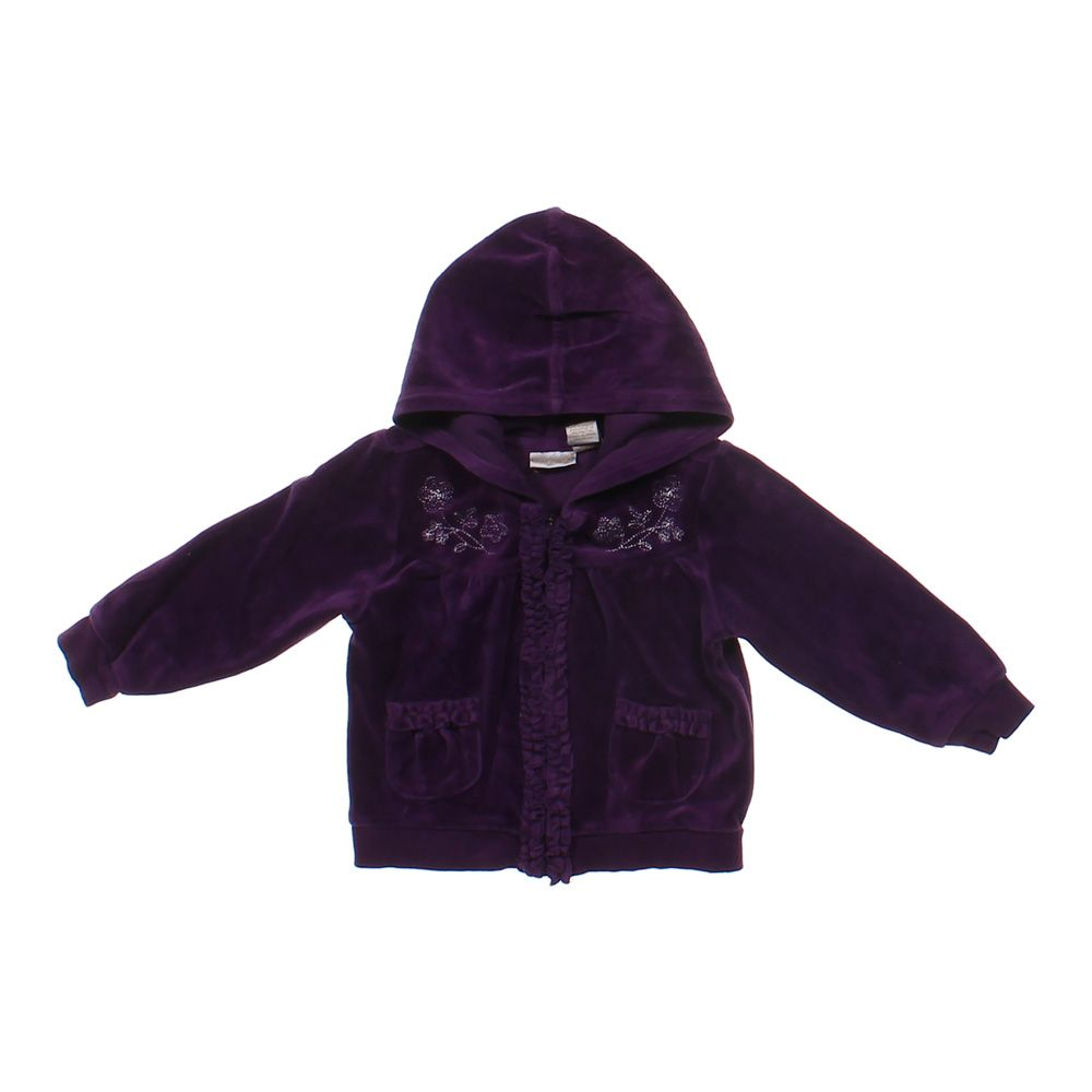 """""Embroidered Zip-up Hoodie, size 2/2T"""""" 4609664519"