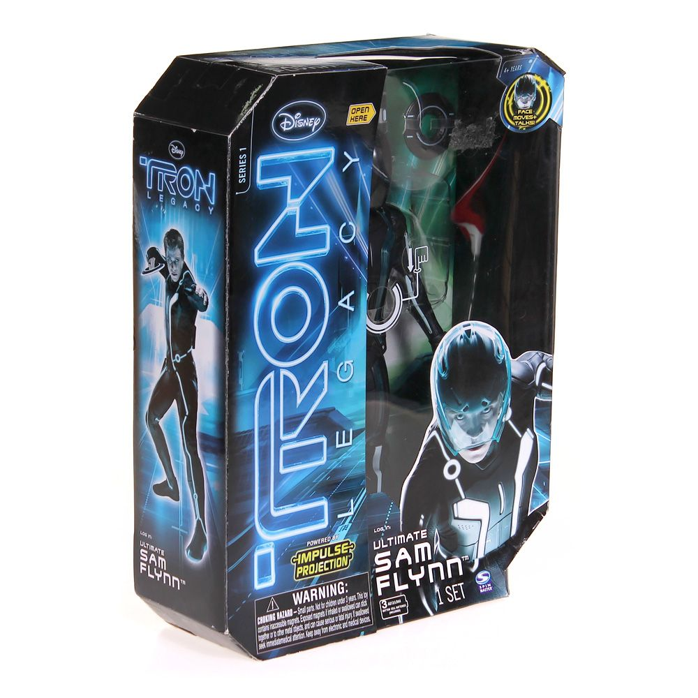 Tron -Ultimate Figure Impulse Projection Sam 4610387229