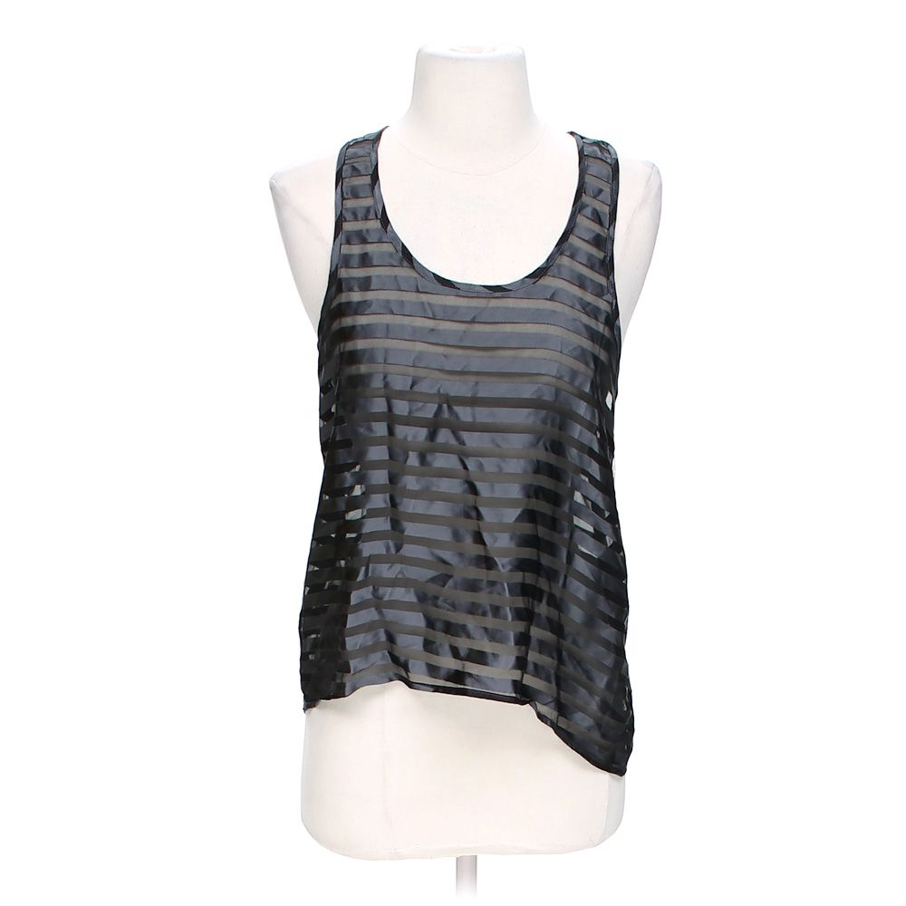 """""Sheer Striped Tank Top, size S"""""" 4614029030"