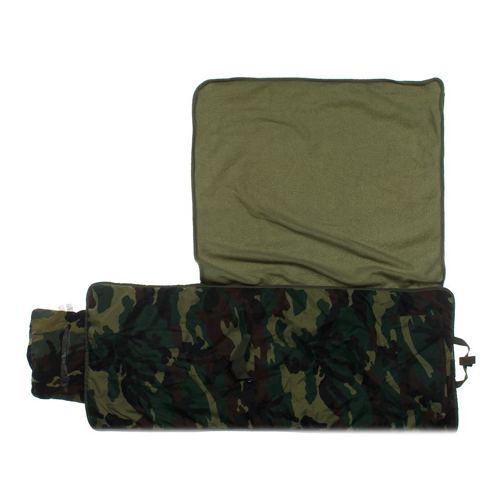 Image of Camo Travel Bed/Blanket