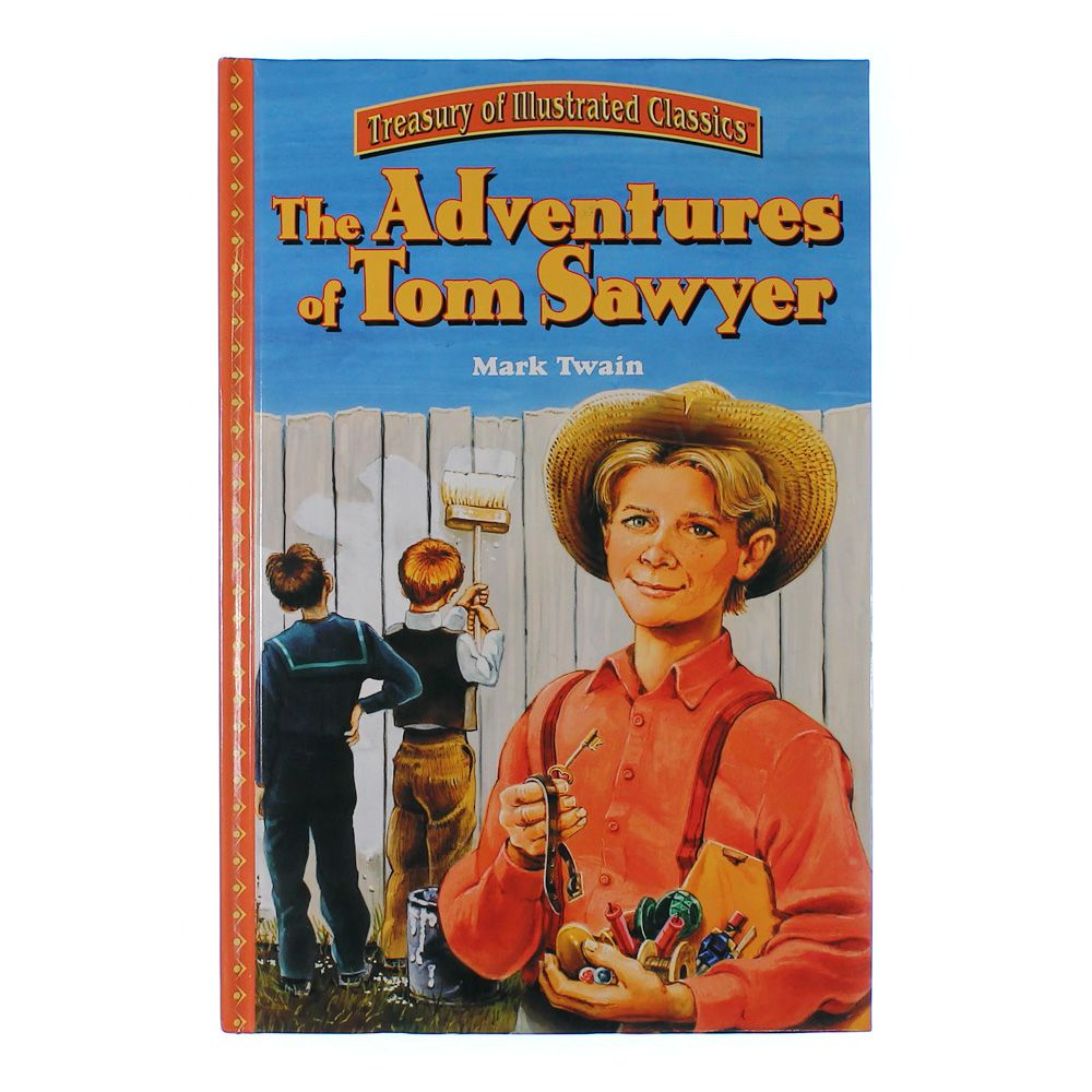 an analysis of mark twains adventure book tom sawyer Summary chapter 20 tom returns to school he gets whipped for the spelling book literature network » mark twain » the adventures of tom sawyer » summary.
