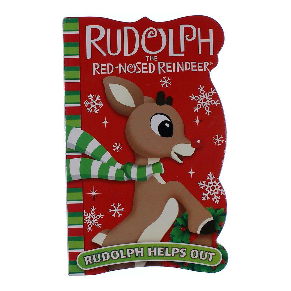 Book: Rudolph The Red Nose Reindeer: Rudolph Helps Out 4700564202
