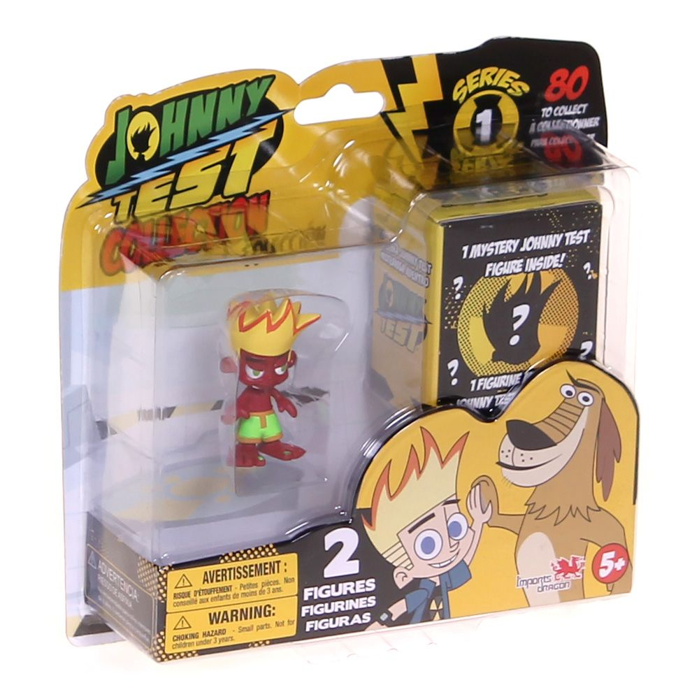 Johnny Test 2 Pack Figures (Colors/Style Will Vary) 4716474950
