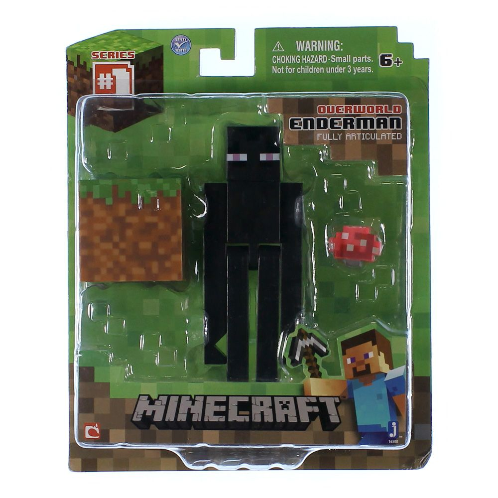Minecraft Core Enderman Action Figure with Accessory 4724684458