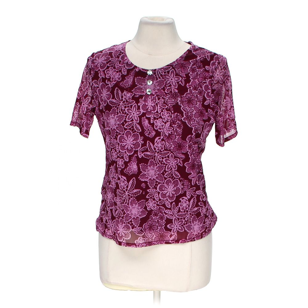 """""Patterned Blouse, size M"""""" 4727304331"