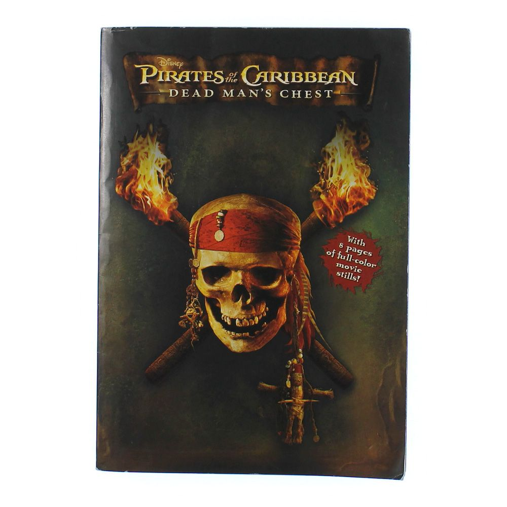 Book: Pirates of the Caribbean Dead Man's Chest 4743474205