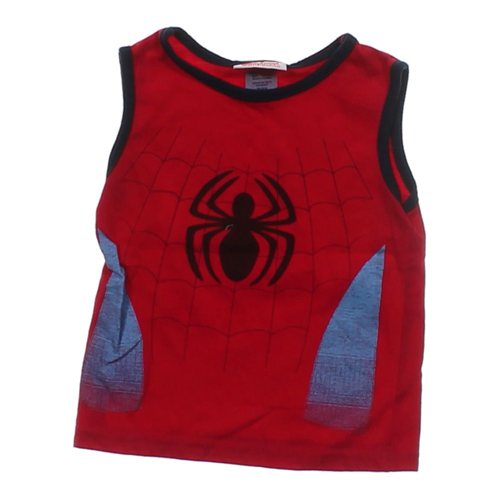 """""Spider Man Tank Top, size 2/2T"""""" 4881074395"
