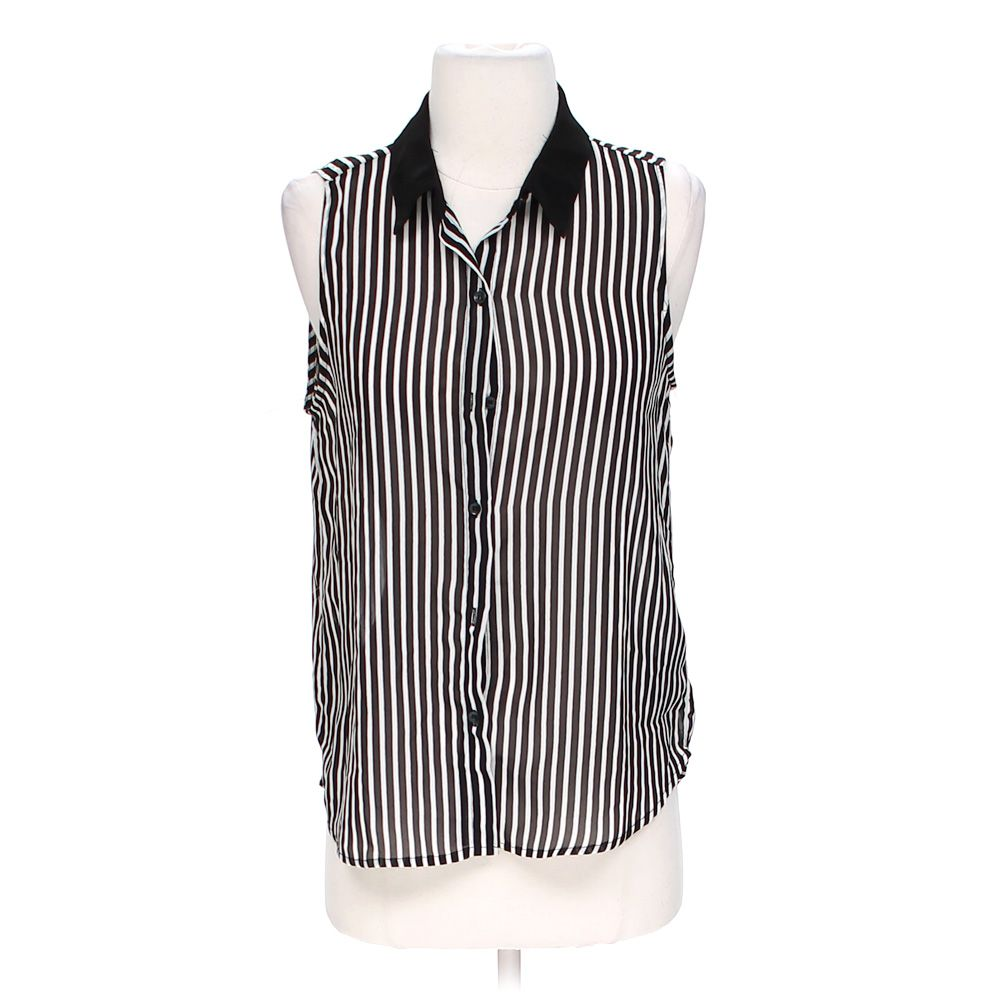 """""""""""Sheer Striped Tank Top, size S"""""""""""" 4956704640"""