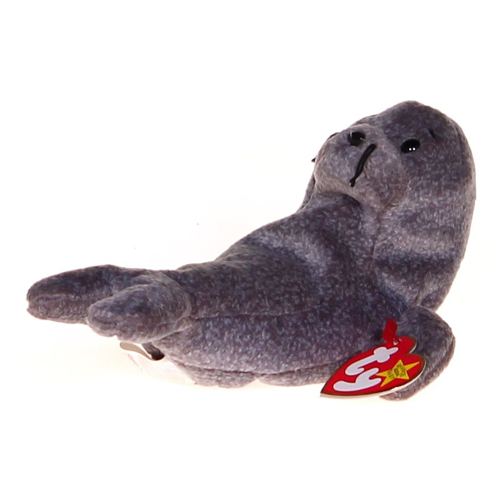 Image of Beanie Babies - Slippery the Seal
