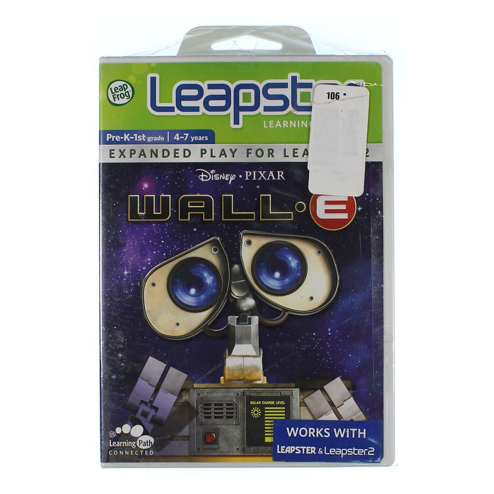Image of Leapster Learning Game: Wall-E