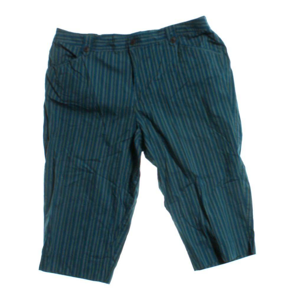 """""Striped Capris, size 22"""""" 5099544035"