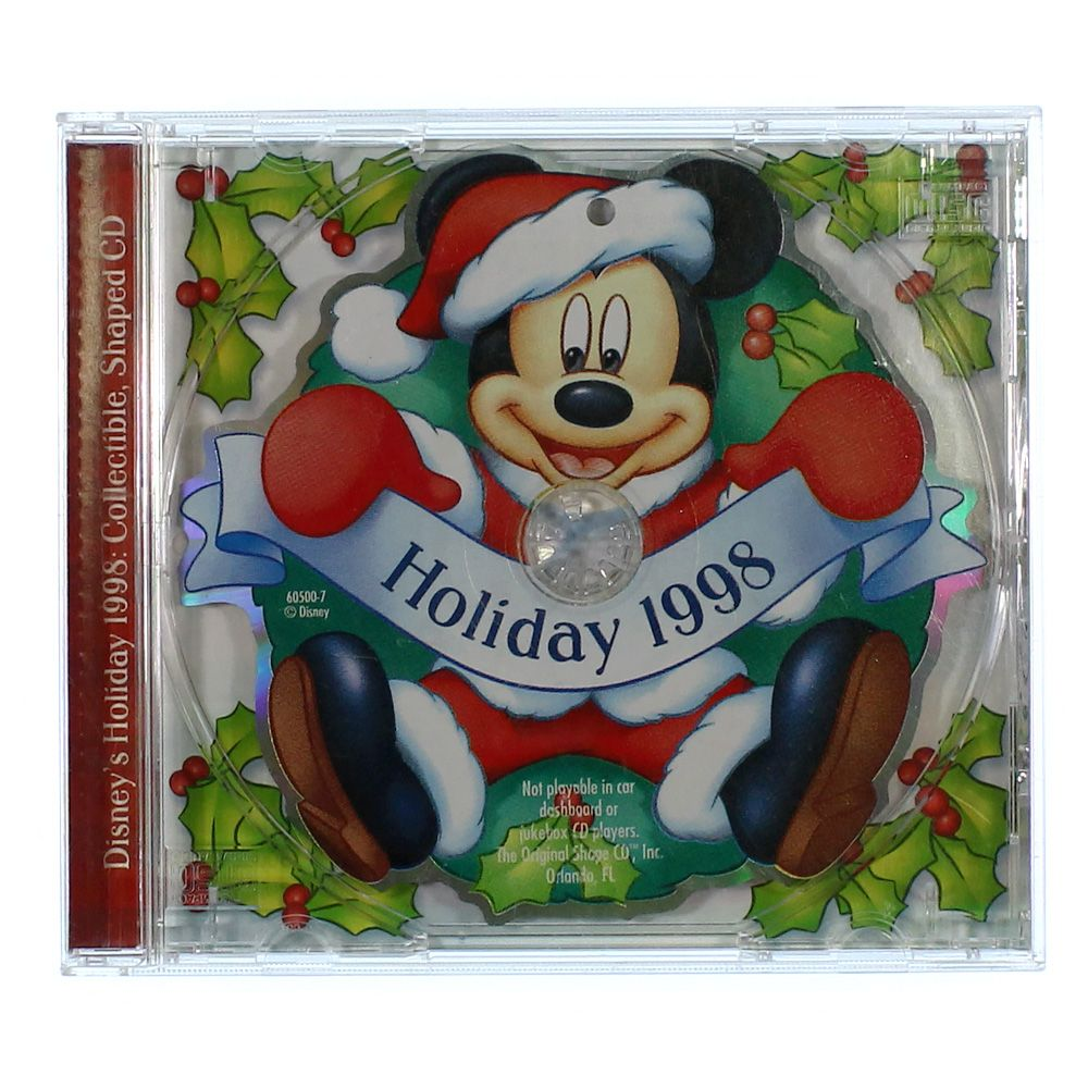 Image of CD: Holiday 1998
