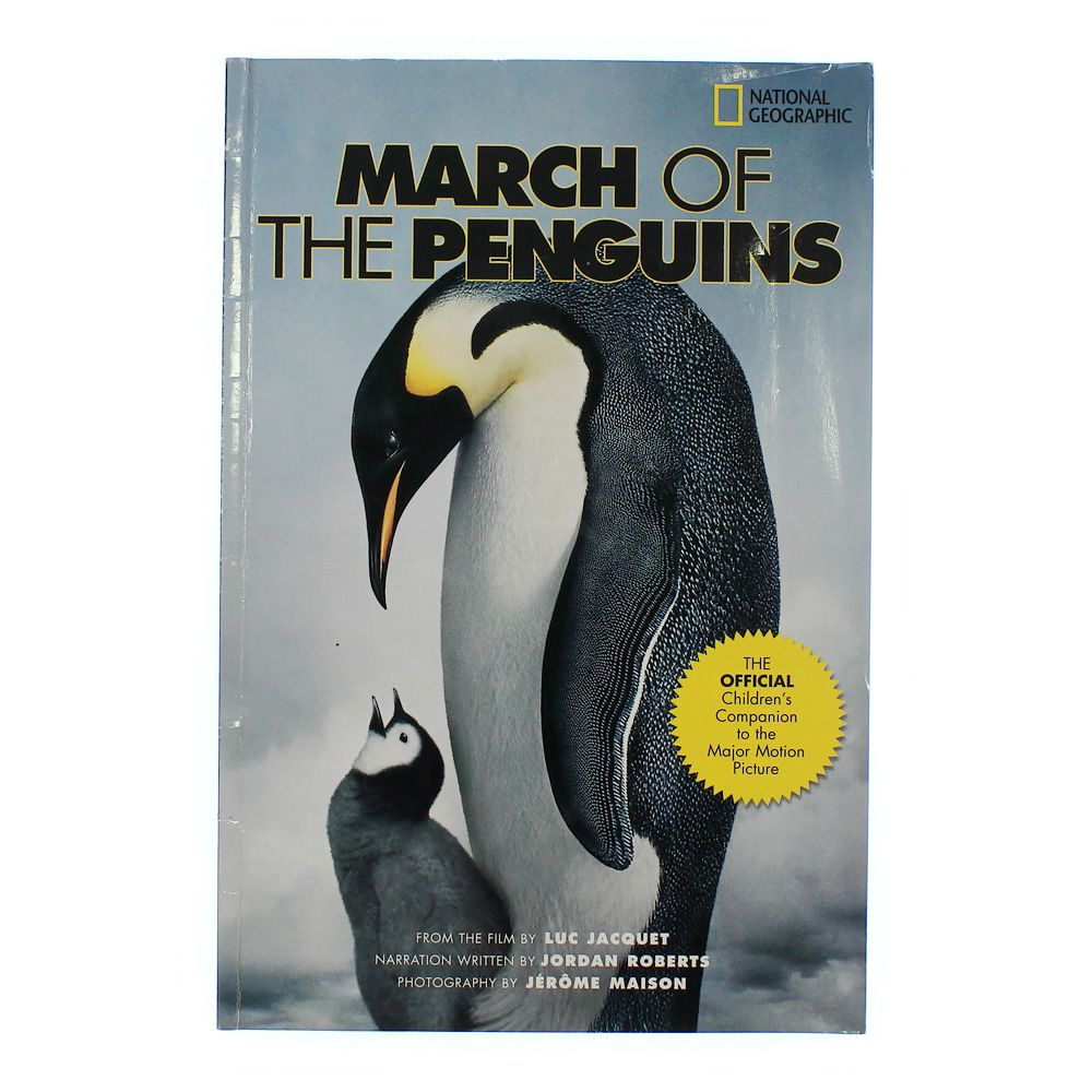 Book: March of the Penguins 5142037628