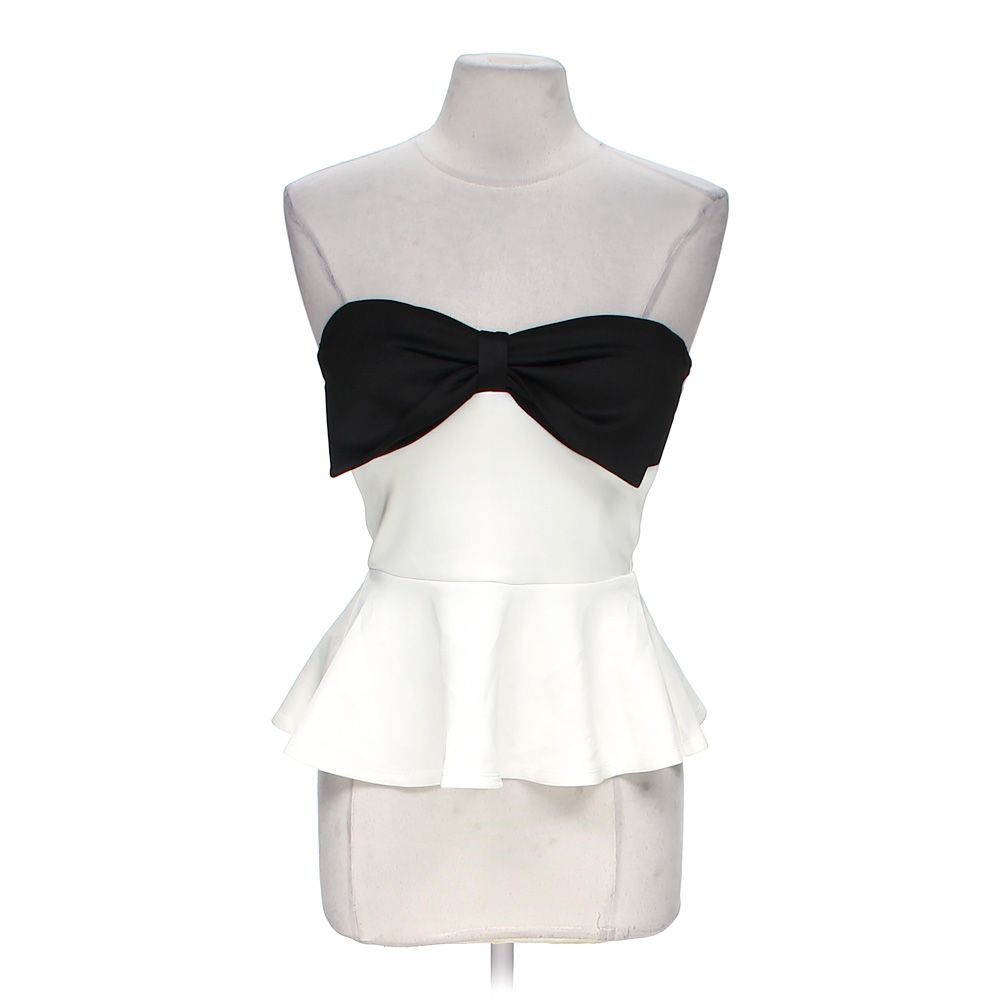 """""Bow Tie Tube Top, size M"""""" 5191894703"