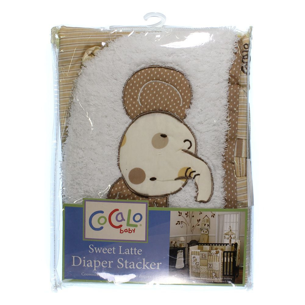 Image of Cocalo Sweet Latte Diaper Stacker