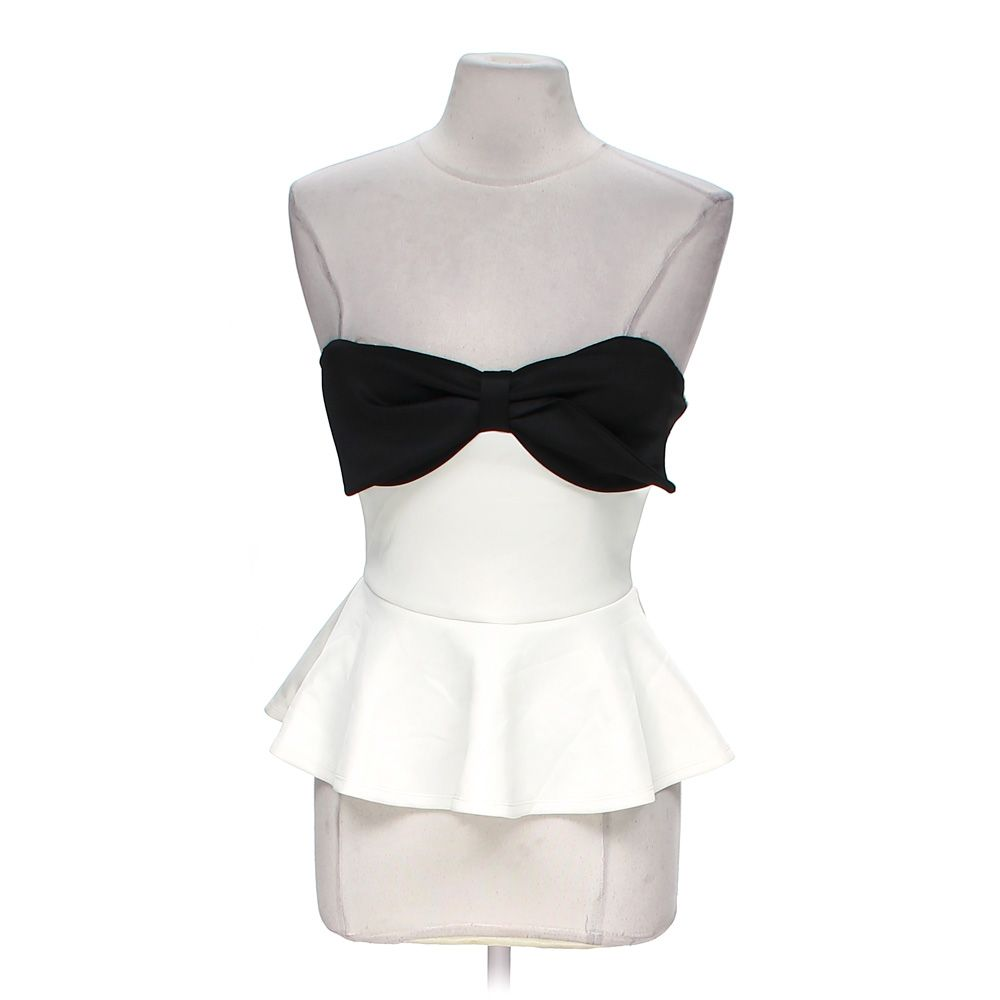 """""Bow Tie Tube Top, size M"""""" 5215914958"