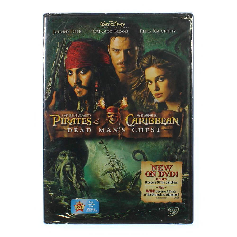Movie: PIRATES OF THE CARIBBEAN DEAD MANS CHEST 5213686864
