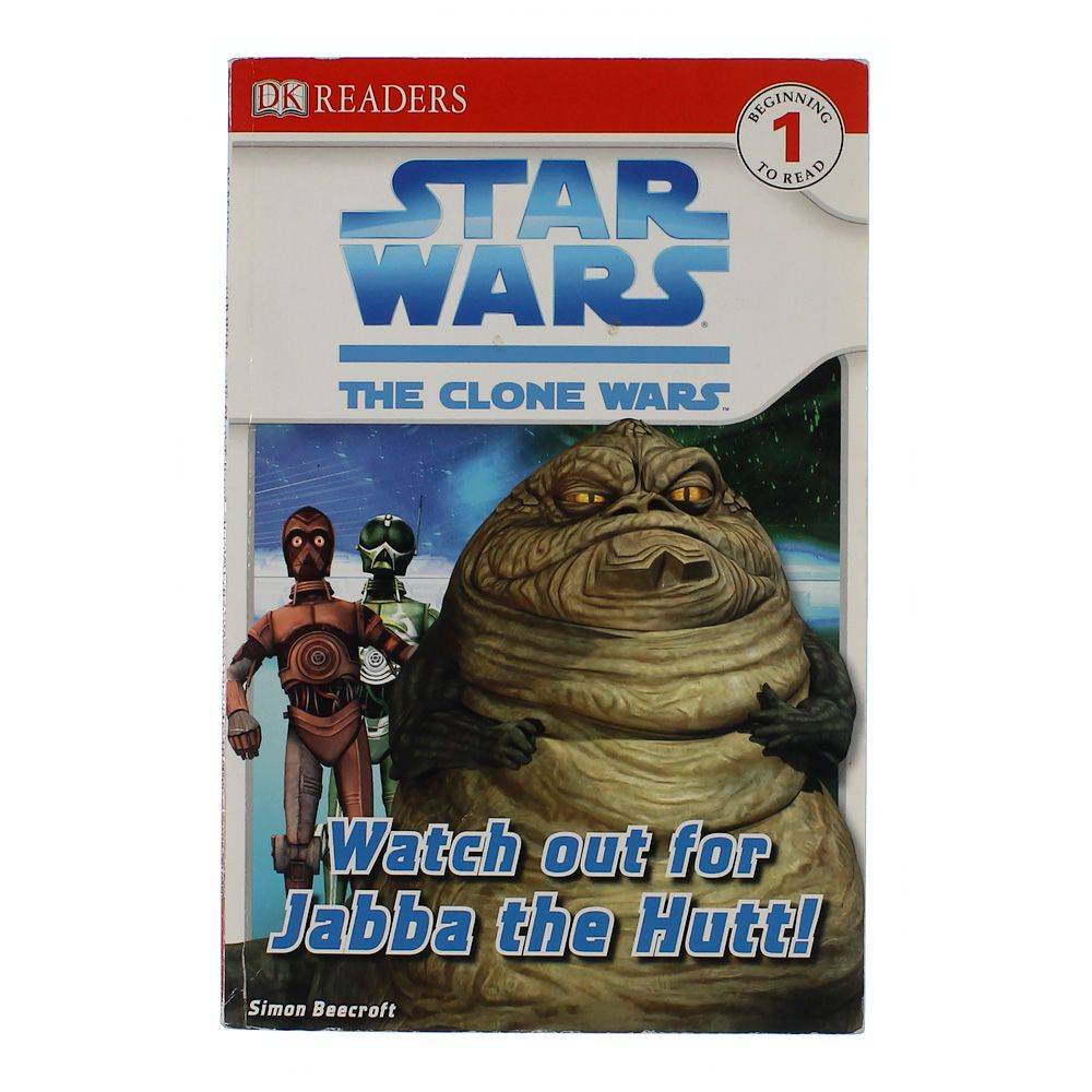 Book: Star Wars The Clone Wars -Watch Out For Jabba The Hutt! 5231648079