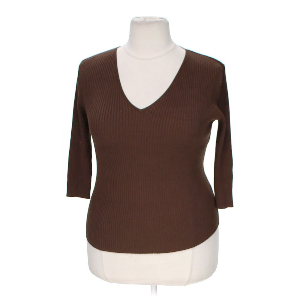 """""""""""Ribbed Sweater, size XL"""""""""""" 5344085687"""