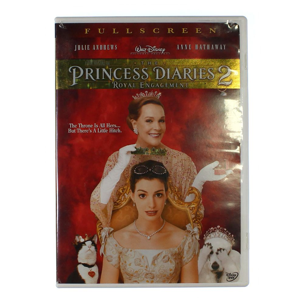 Movie: The Princess Diaries 2 - Royal Engagement (Full Screen Edition) 5380075792