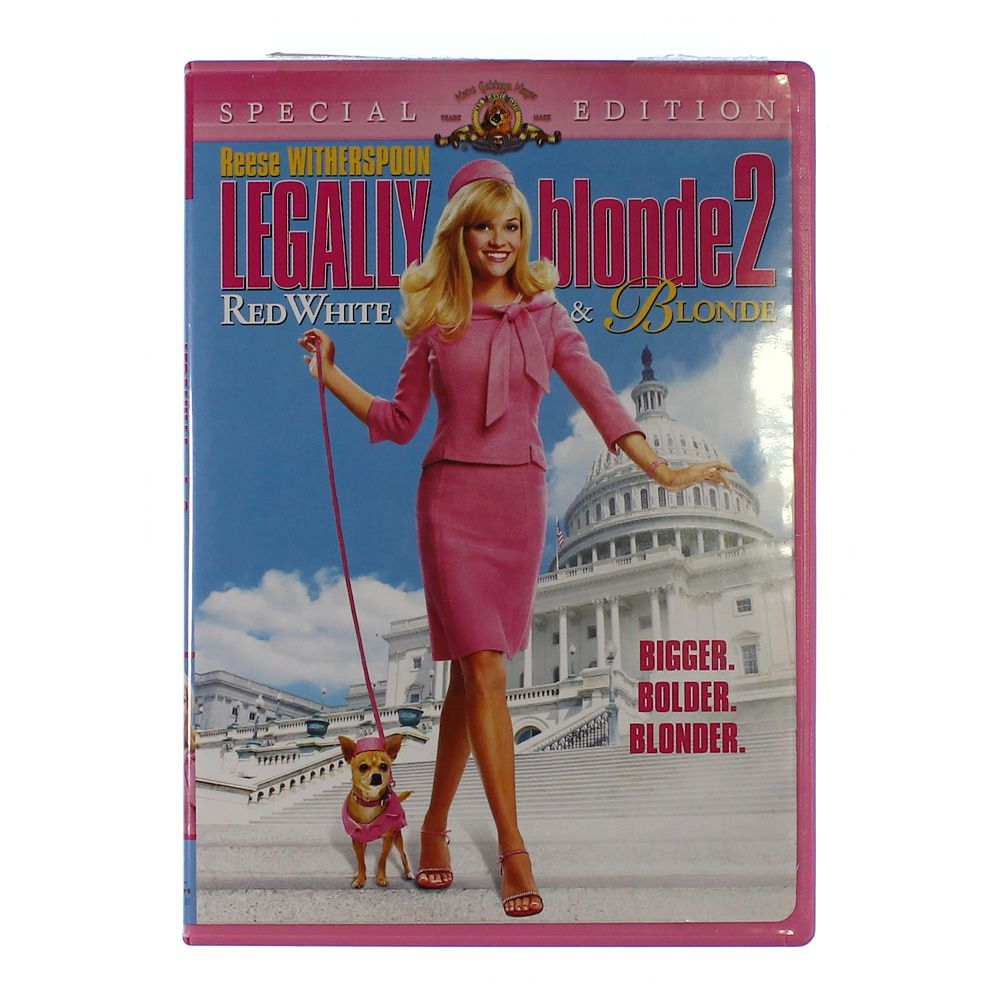 """""Movie: Legally Blonde 2 - Red, White & Blonde (Special Edition)"""""" 5384975659"