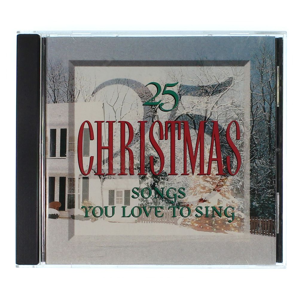 Image of CD: 25 Christmas Songs You Love To Sing
