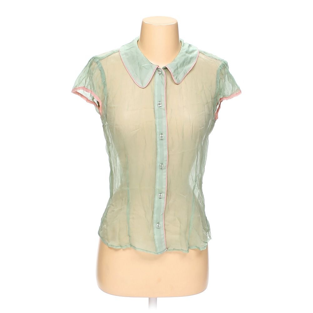 """""""""""Button-up Sleeveless Top, size 6"""""""""""" 5460124415"""