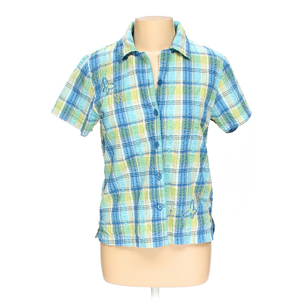 Plaid Shirt, size L Coupon 2016