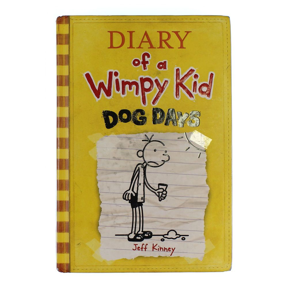 Book: Diary of a Wimpy Kid - Dog Days 5478674092
