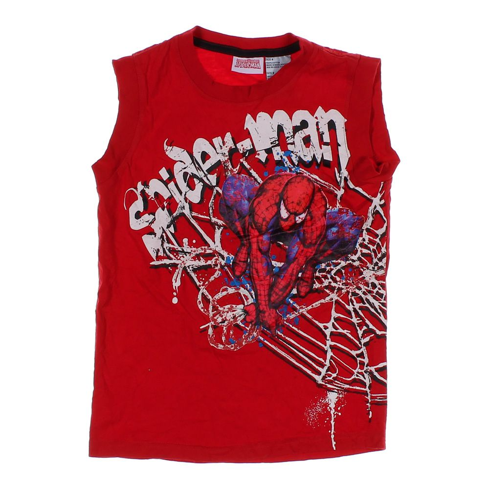 """""""""""""Spider-Man"""""""" Tank Top, size 8"""""" 5495414104"