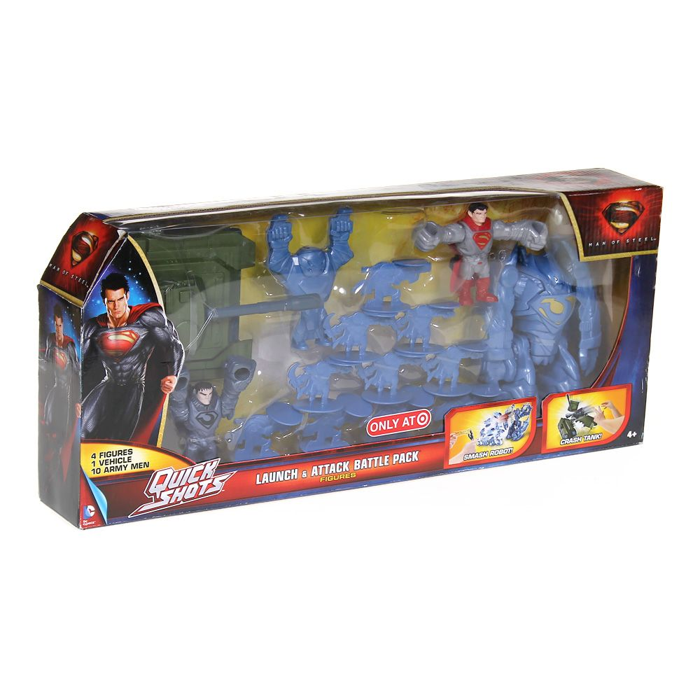 Superman Launch & Attack Battle Pack Figures 5496638392