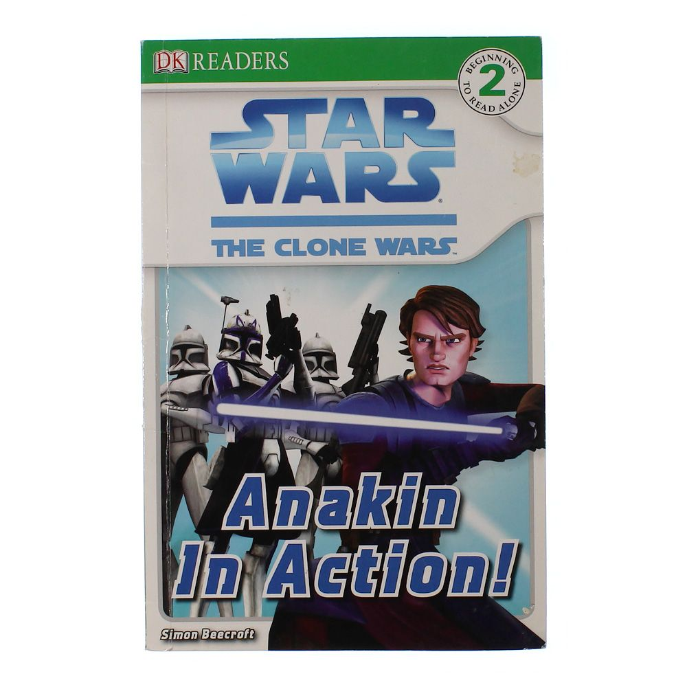 Book: Star Wars The Clone Wars - Anakin In Action 5532075400