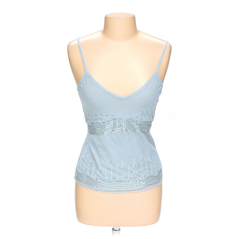 """""""""""Sequined Sheer Cami, size L"""""""""""" 5566965331"""