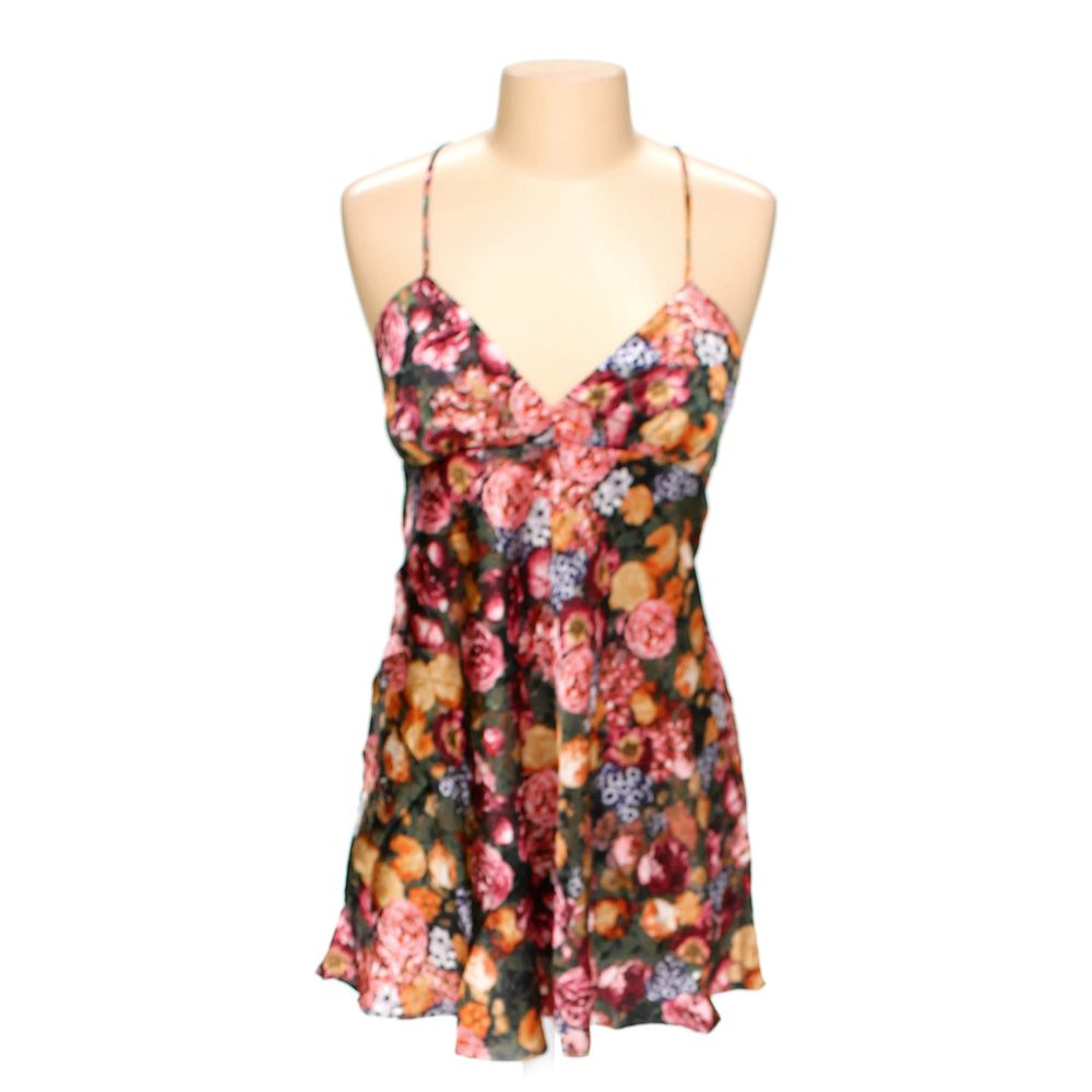 Floral Nightgown, Size L