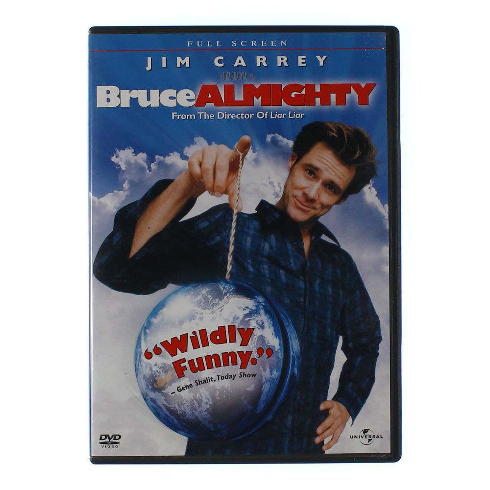 Movie: Bruce Almighty (Full Screen Edition) 5586674002