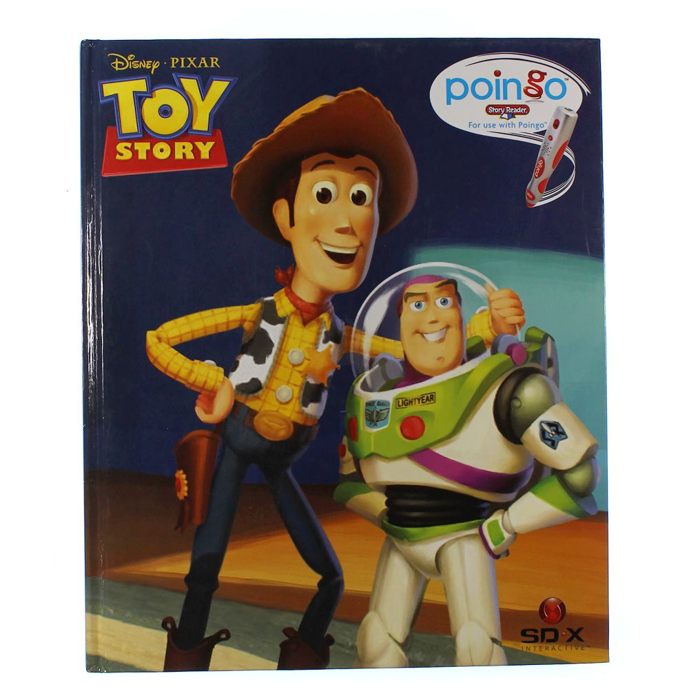 Book: Toy Story Poingo Story Reader 5606924603