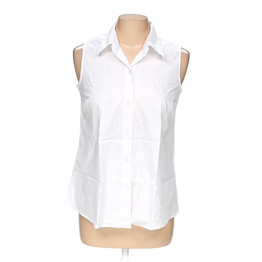 """""""""""Button-up Sleeveless Top, size M"""""""""""" 5609914407"""