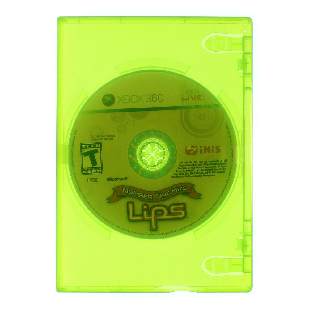 Image of Video Game: Lips: Number One Hits