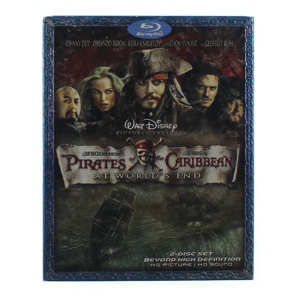 Movie: Pirates of the Caribbean: At World's End [Blu-ray] 5638034209