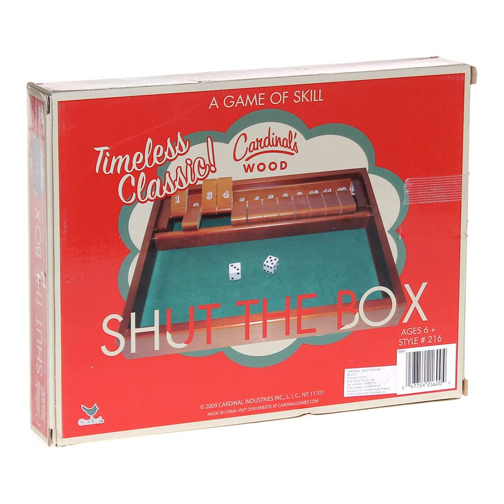 Game: Shut The Box 5700725798